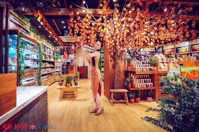 Mang Đà Lạt thu nhỏ vào cửa hàng L'angfarm Nguyễn Văn Cừ