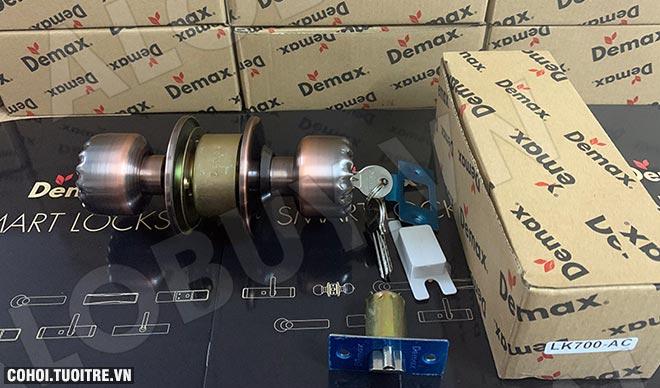 Xả kho khóa cửa tay nắm tròn Demax LK700 AC giá 165.000đ