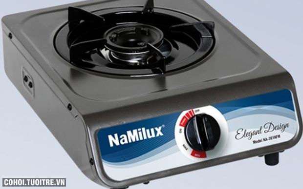 Bếp gas Namilux, thương hiệu uy tín, chất lượng, đang giảm giá