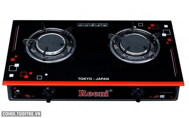 Bếp gas hồng ngoại Reeni, công nghệ Nhật, đang giảm giá