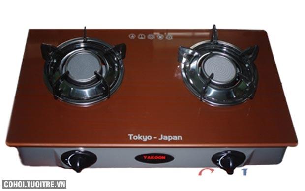 Bếp gas hồng ngoại Yakoon, công nghệ Nhật