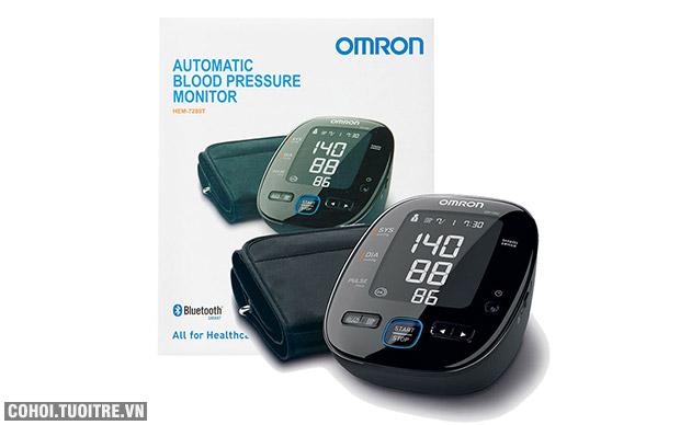 Máy đo huyết áp bắp tay Omron HEM 7280T