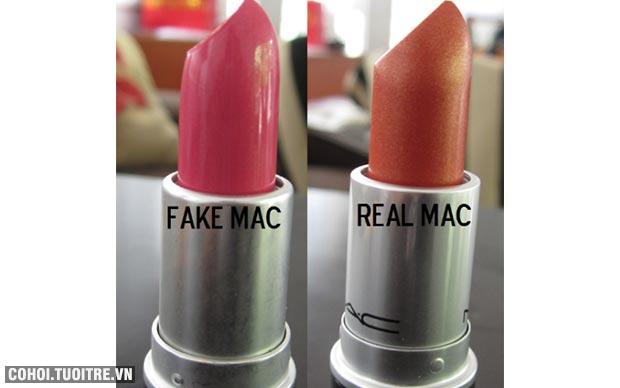Cách phân biệt son MAC thật - giả