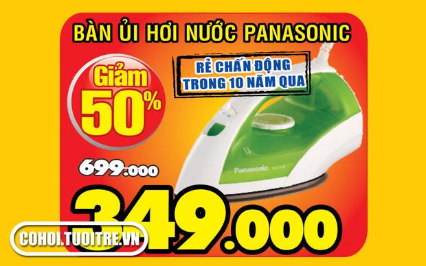 Bàn ủi hơi nước Panasonic NI-E100TGRA