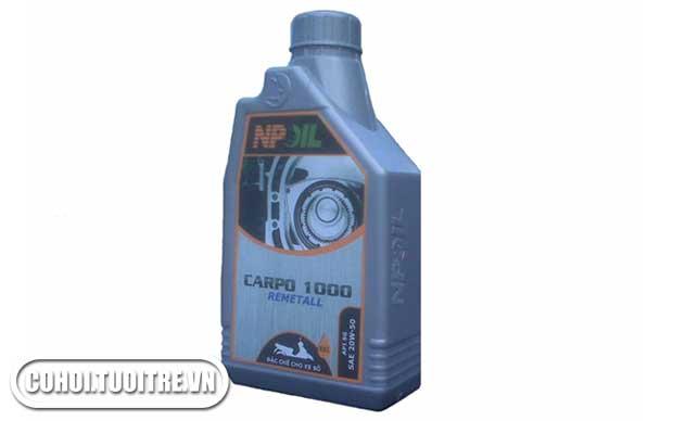 Dầu nhớt chuyên dùng cho xe máy CARPO 1000 – API SG (20W50)