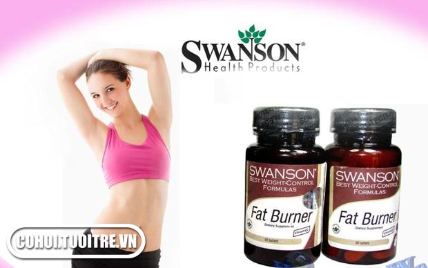 Đốt mỡ với Swanson Fat Burner