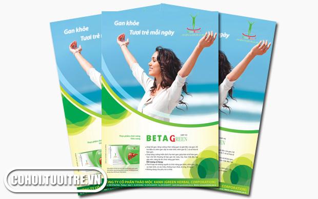 BETAGREEN - Duy trì và bảo vệ các tế bào gan khỏe mạnh